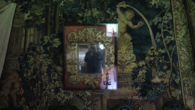 Mirror in Tapestry