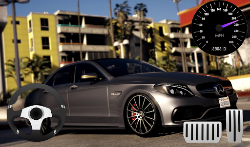 Parking Mercedes C63 AMG City Drive 1.0 screenshots 3