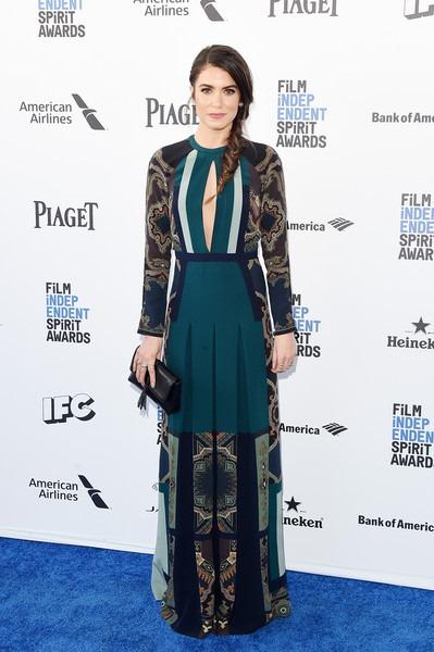 Nikki Reed attends the 2016 Film Independent Spirit Awards