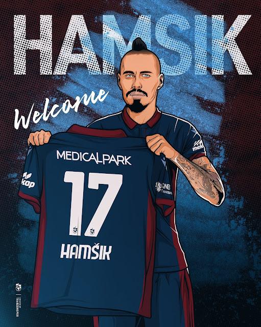Trabzonspor have signed midfielder Marek Hamsik
