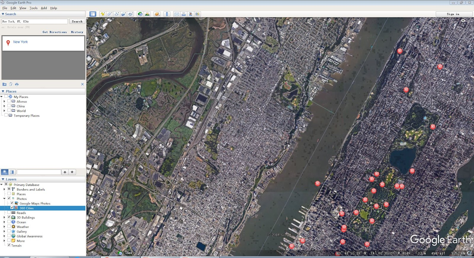 Help Google Maps Photos Not Showing Up In Google Earth Boh8eia