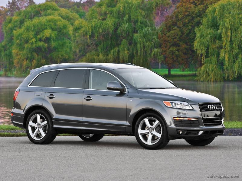 2007 audi q7 suv specifications pictures prices. Black Bedroom Furniture Sets. Home Design Ideas