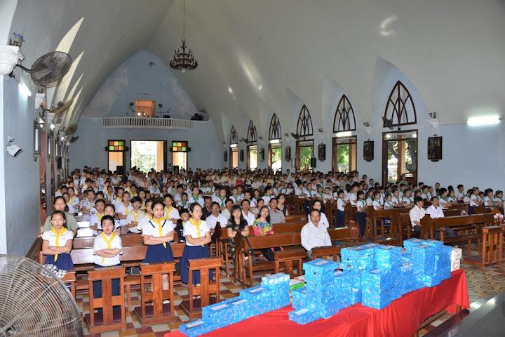 Bế giảng giáo lý niên khóa 2015 - 2016 tại giáo xứ Tuy Hòa