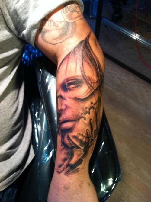 cara_antebraço_para_o_projeto_da_tatuagem