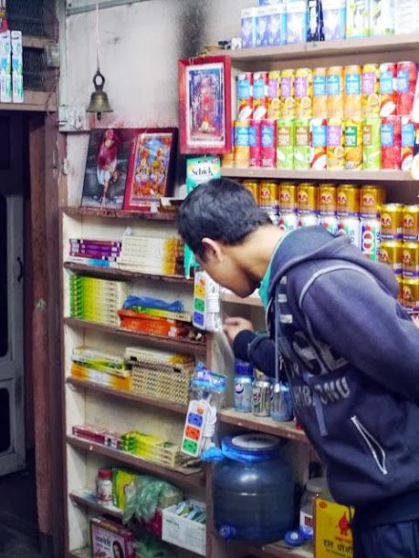 達人帶路-環遊世界-尼泊爾-小賣店