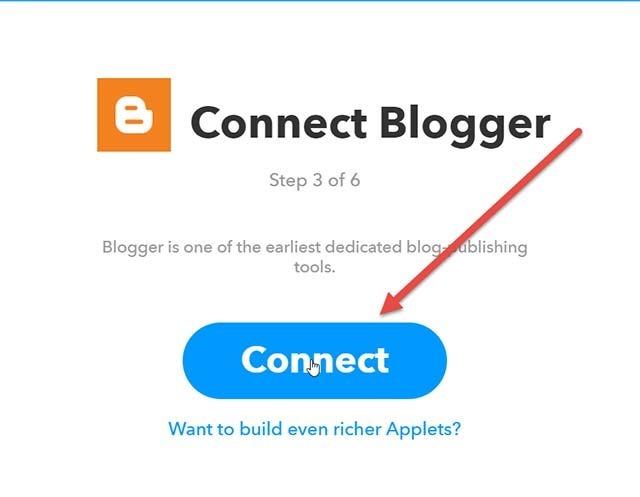 connessione-blogger