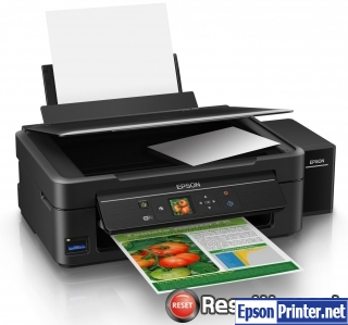 Reset Epson L455 ink pads are at the end of their service life