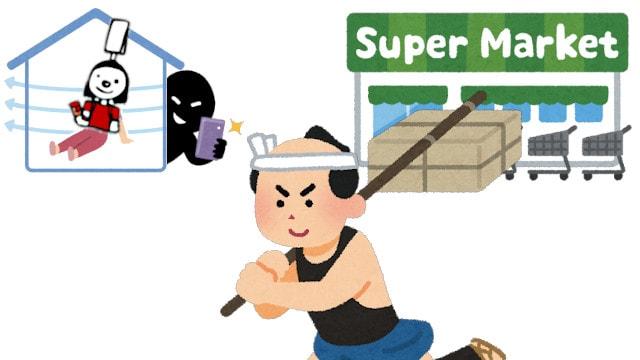 ネットスーパーの図