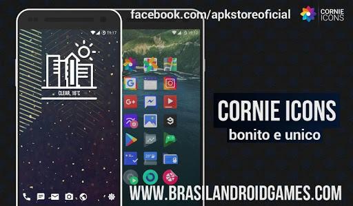 Download Cornie Icons v3.2.7 APK Full Grátis - Aplicativos Android