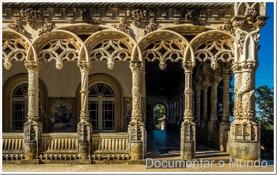 Mata Nacional do Buçaco, Palace Hotel do Buçaco, o que visitar no Buçaco
