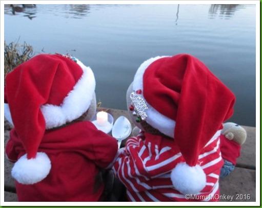 Christmas Eve on the riverbank. 1