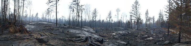 Pagami Creek Fire, Comfort Lake
