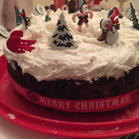 homemade-christmas-cake
