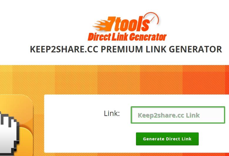 Keep2Share Premium Link Generator