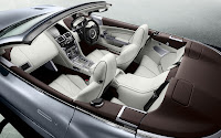 The New Aston Martin Virage 2011 convertible interior