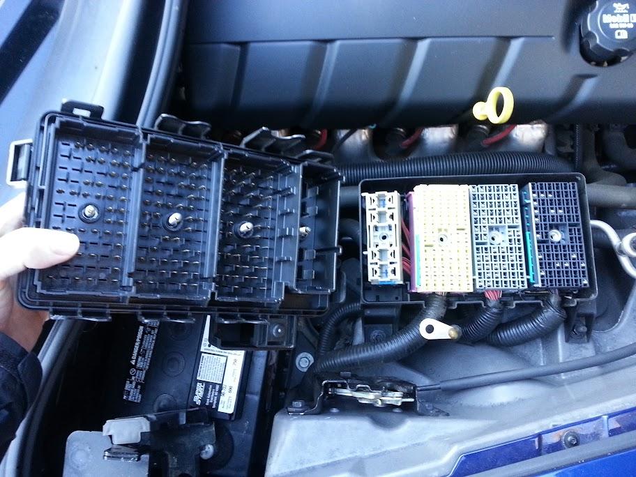 gm fuse box disassembly inspect fuse panel underside help corvetteforum chevrolet  inspect fuse panel underside help