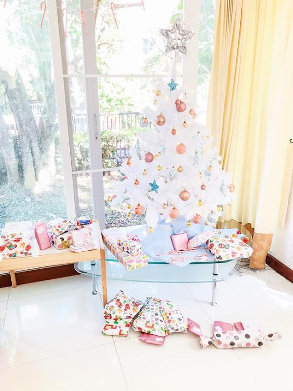 Pastel Vintage Style Christmas Tree | Lavender & Twill