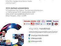 Lowongan Kerja Social Media Officer Gramedia 2016