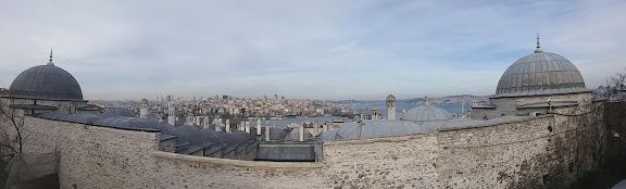 Панорама мечеті Сулейманіє