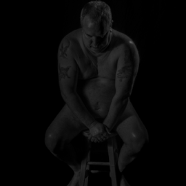 self nude of a fat man 4 by Tim Hauser - Nudes & Boudoir Artistic Nude ( fine art photography, artistic nude photography, fine art, artistic nude, tim hauser photography )