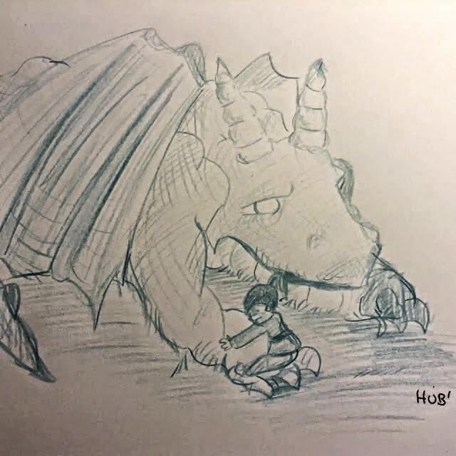 Drawuki Dragon Crayon A Papier