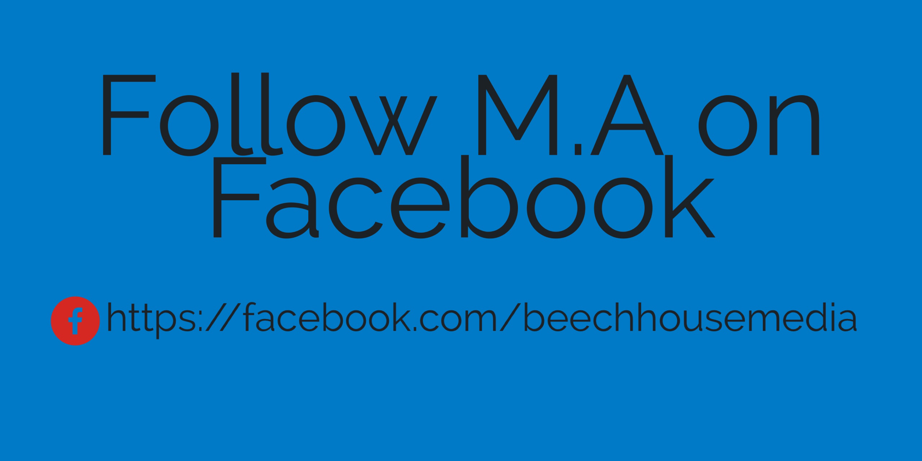 follow beechhouse media on Facebook