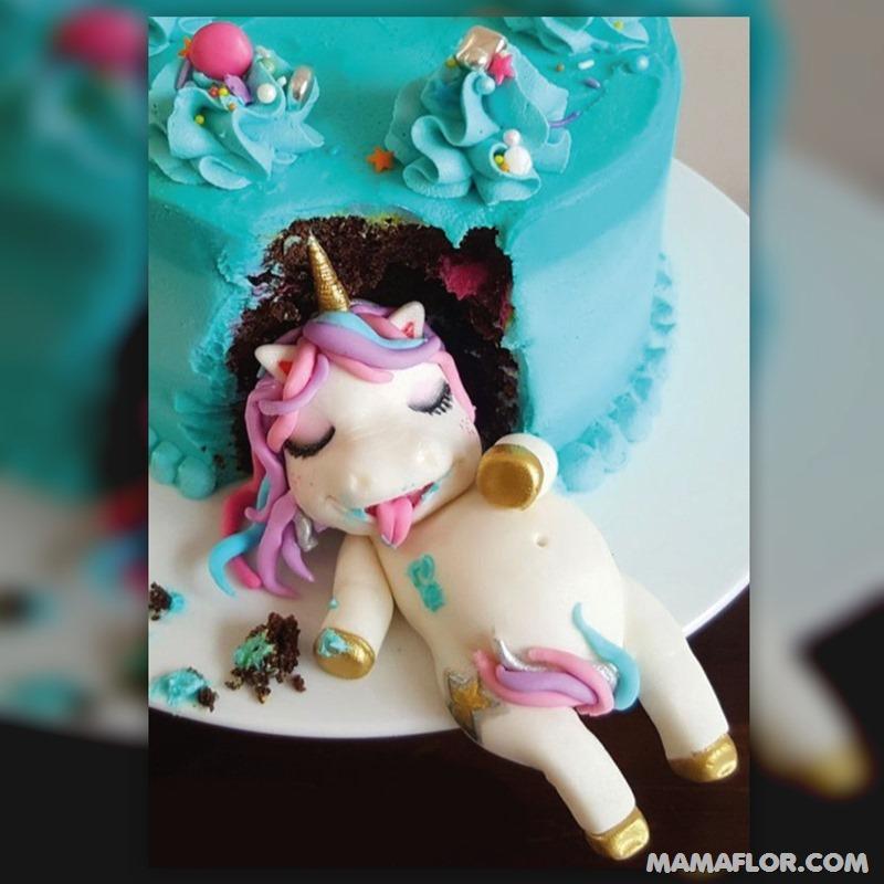 tortas-de-unicornios-divertidas-14