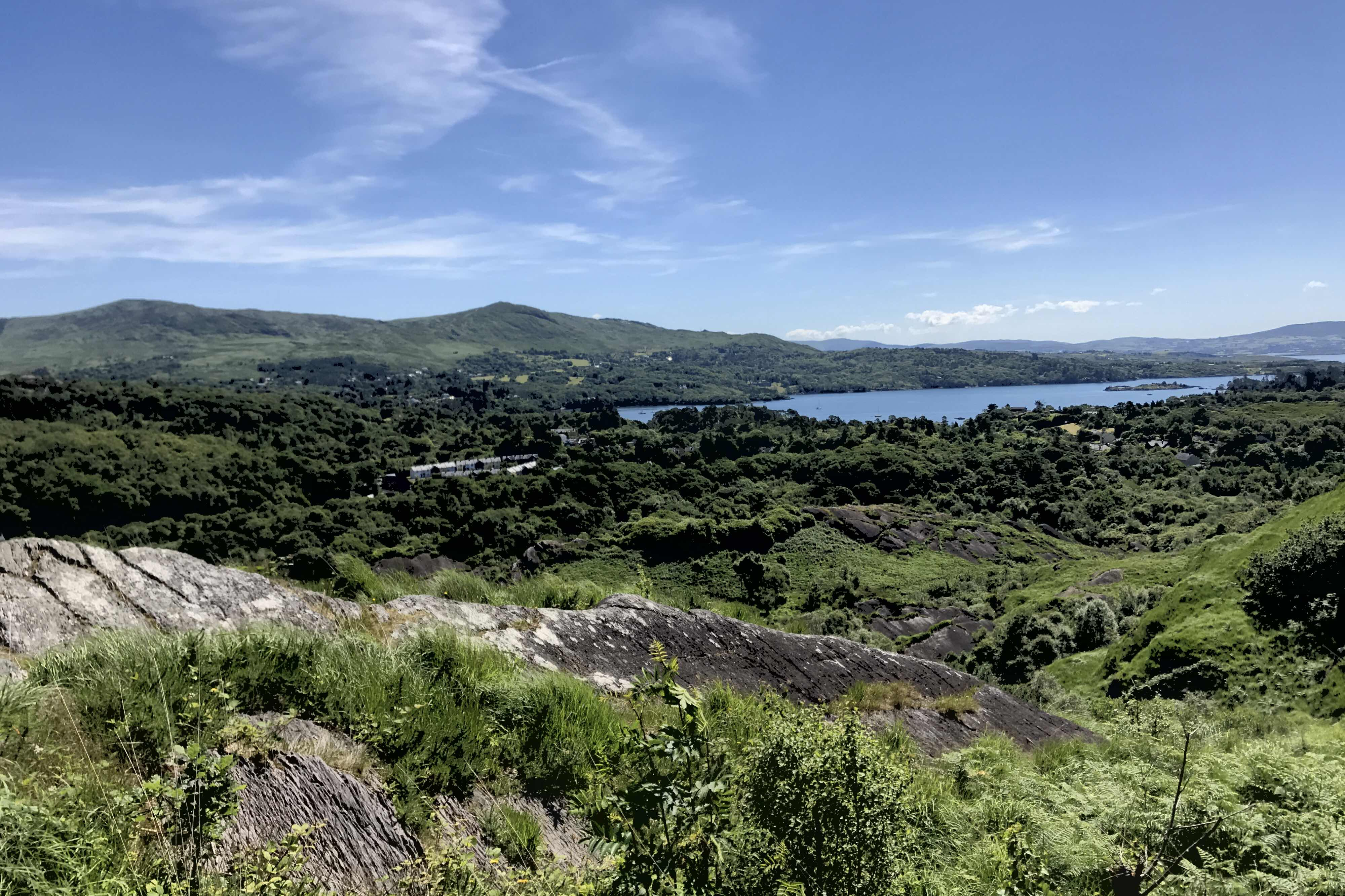 Lady Bantry's Lookout view