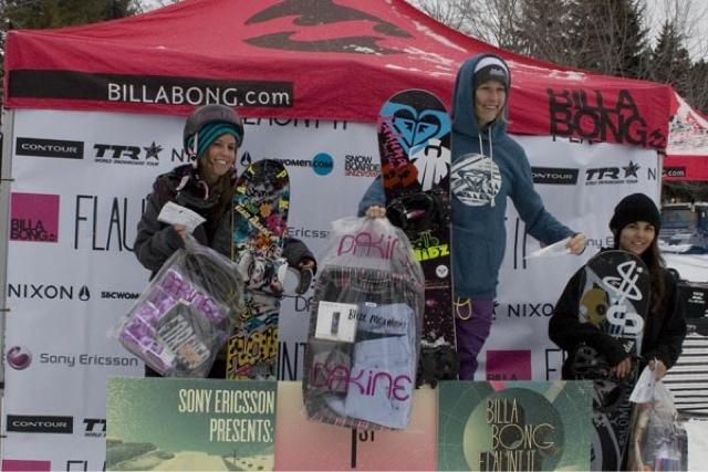 Flow Snowboard Team Rider Jen Cusick