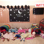 PYJAMA PARTY CELEBRATION BY PLAYGROUP SECTION (2017-18) AT WITTY WORLD, BANGUR NAGAR