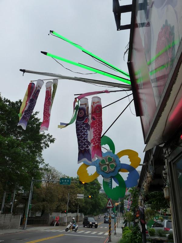 En marchant dans Yangmingshan