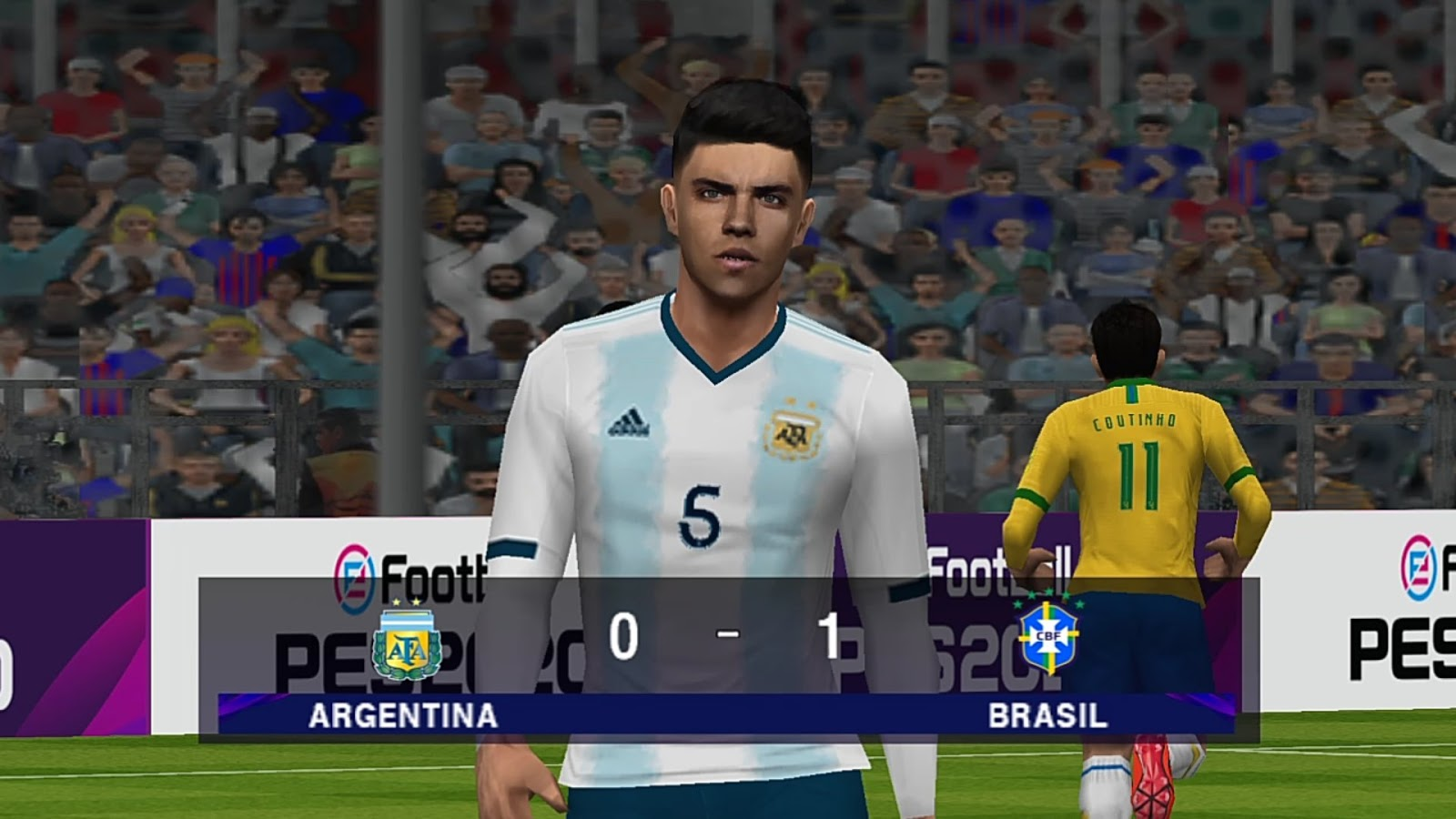 eFootball PES 2020 ISO PPSSPP Camera PS4 Lite 400Mb Android Offline +Download