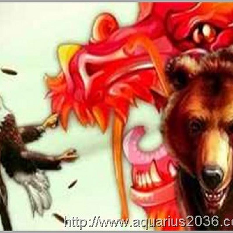 Dragão Chinês e Urso Russo Cortam Garras da Águia Americana