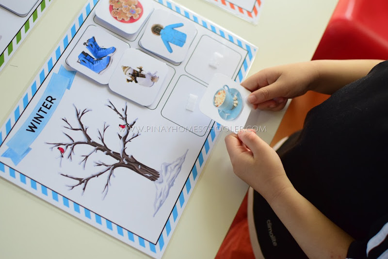 Winter Season Sorting Activity