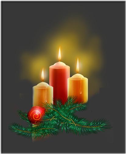 fotos velas de Navidad (18)