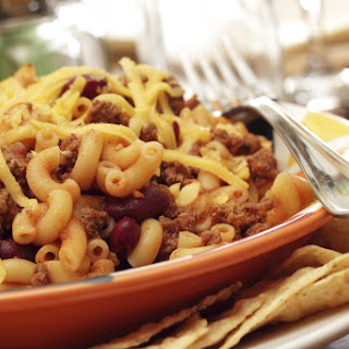 Crock Pot Chili Mac.