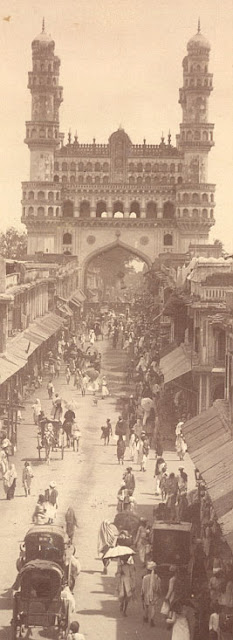 Hyderabad - Rare Pictures - charminar1880sb.jpg