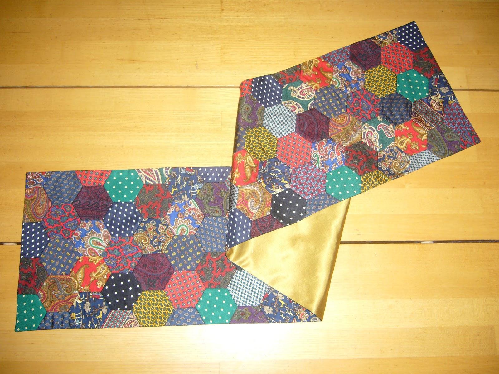 quiltmanufaktur blog krawatten recycling. Black Bedroom Furniture Sets. Home Design Ideas