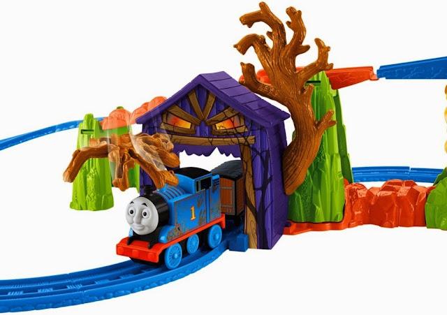 Đồ chơi tàu hỏa Motorized Railway Thomas' Spooky Tracks Set thiết kế sinh động