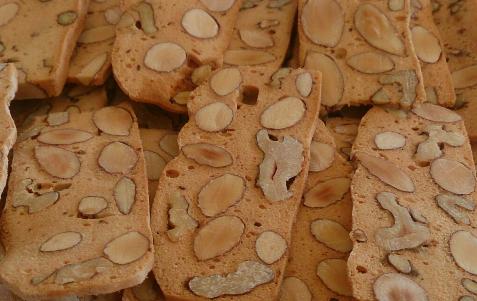 Biskut Almond Biscotti