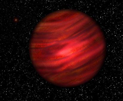 ilustração do exoplaneta J2126