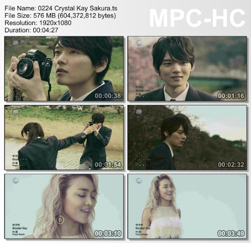 [MUSIC VIDEO] Crystal Kay – サクラ (2016.03.23/MP4/RAR)