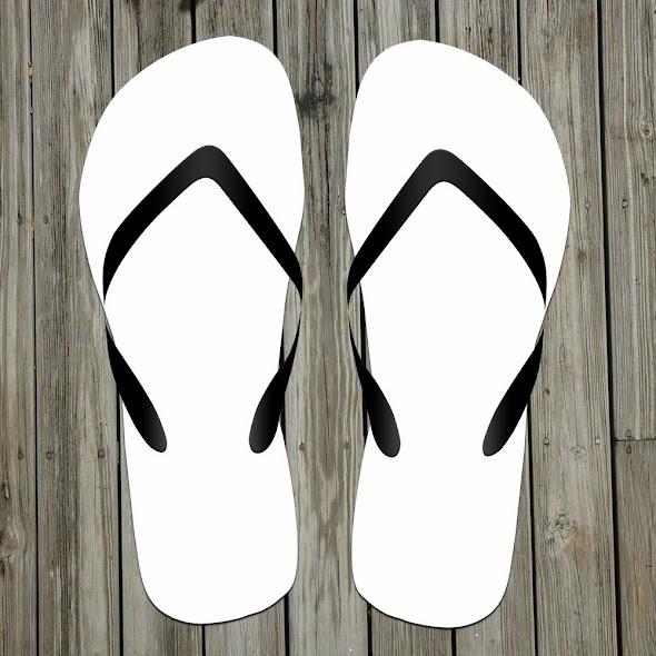 Flip Flop Sandals Product Mockup