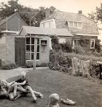 Photo: Zicht op woning Roelof Vedder, Naweg