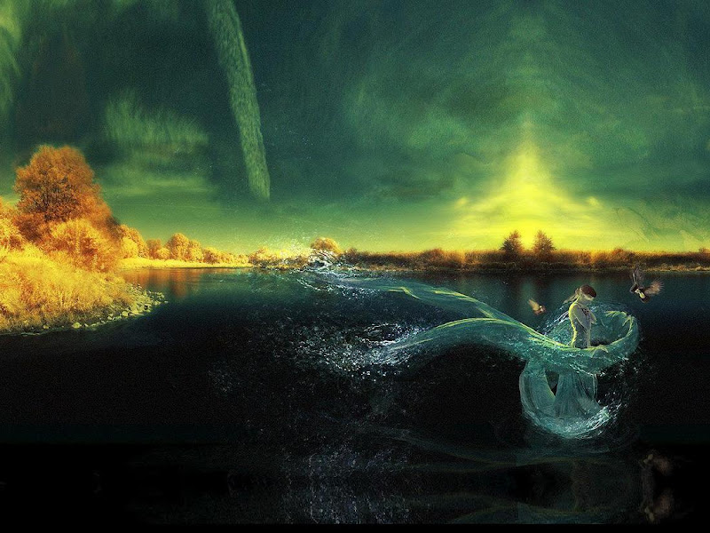 Weird Lands From Dream 10, Magical Landscapes 4