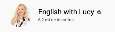 101 canais do YouTube para aprender inglês de graça English with Lucy