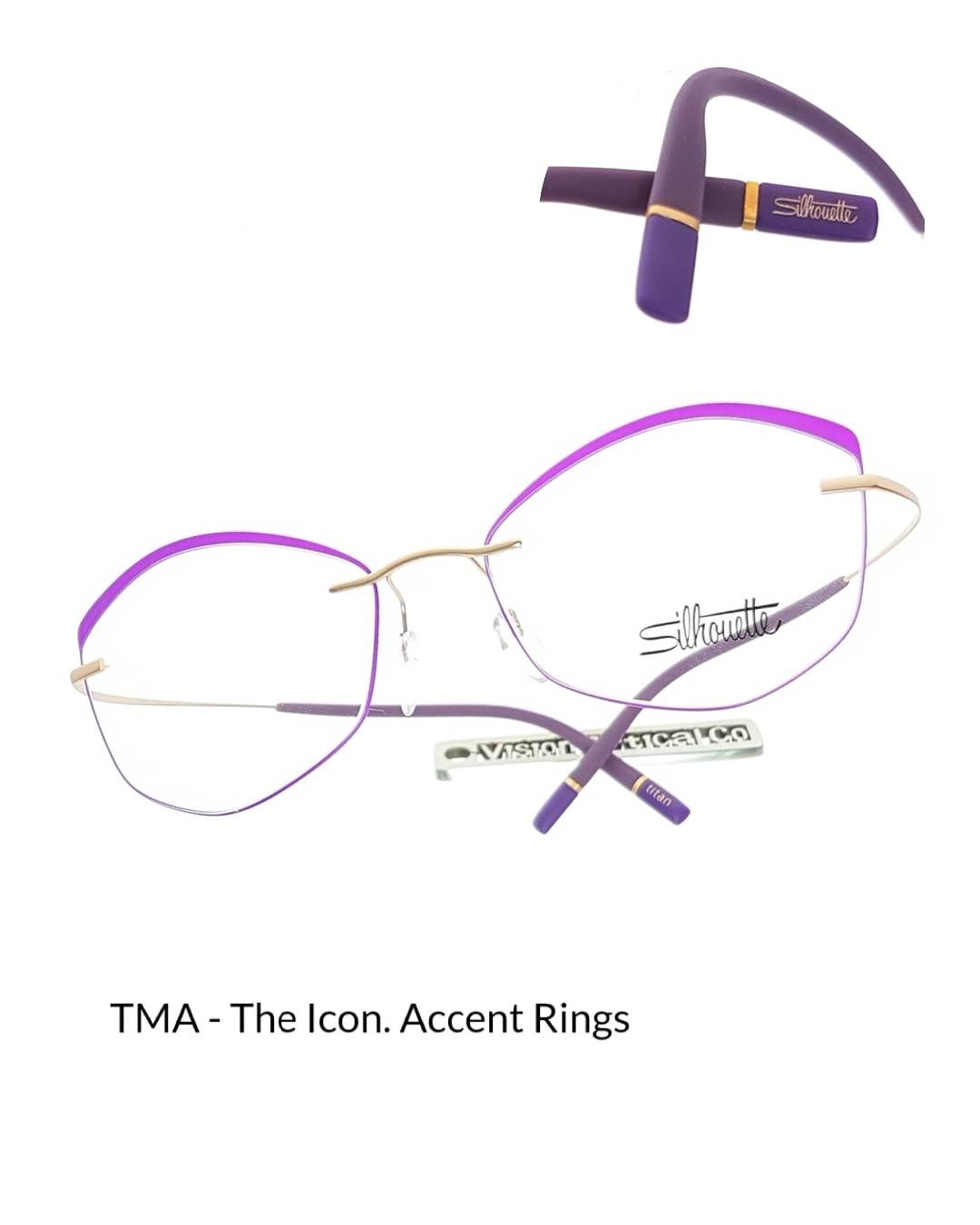 Silhouette 奧地利詩樂 TMA - The Icon. Accent Rings