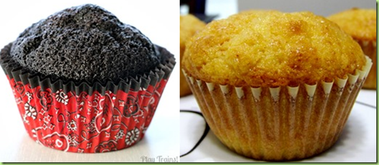 coal and corn muffins