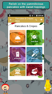 Pancakes and Crepes Recipes - náhled