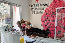 Donor Plasma Konvalesen ke  Enam, Kapolres Ajak Penyintas Covid 19 di Lumajang Ikut Serta